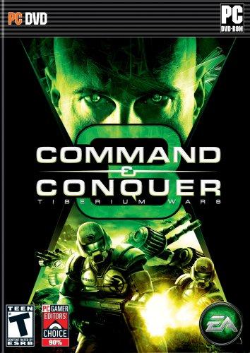 Command & Conquer 3: Tiberium Wars - PC (Command And Conquer Generals Zero Hour Strategy)