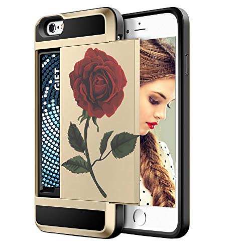 Cellphone Case Wallet Case Design Compatible iPhone 6S / iPhone 6S Plus Advanced Silicone Phone Case White Painted with Popular Patterns Fashion Mobile Phone Accessories (Color6S-11)