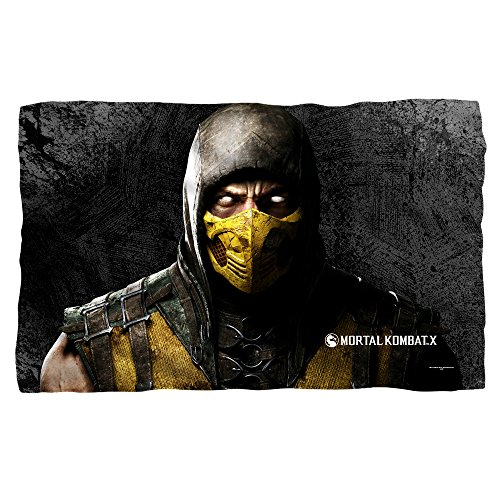Price comparison product image Scorpion -- Mortal Kombat X -- Fleece Throw Blanket