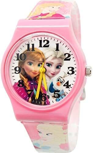 Disney Frozen Fever Analog Wrist Watch For Children. Adjustable Band 9