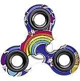 Einhorn Fidget Spinner, Unicorn Hand Spinner, Finger Spinner für Erwachsene und Kinder in blau
