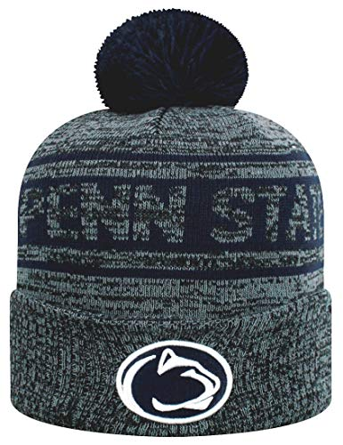 Top of the World Penn State Nittany Lions Official NCAA Cuffed Knit Sockit to Me Stocking Stretch Sock Hat Cap 469065