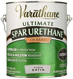 Delightful RUST OLEUM 9331 Varathane Gallon Satin Exterior Oil Based Premium Spar  Urethane