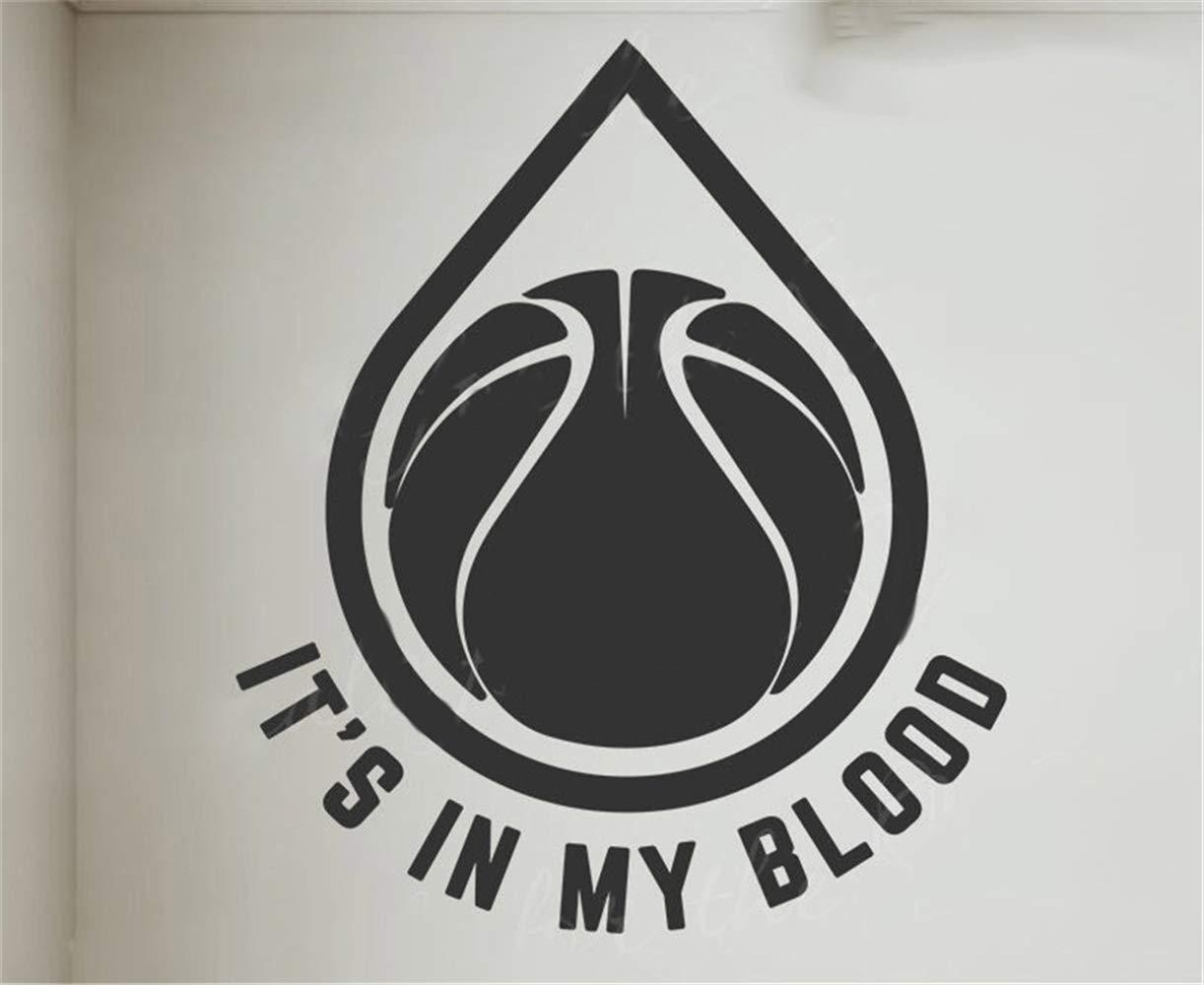 pegatina de pared pegatina de pared 3d Está en mi sangre ...