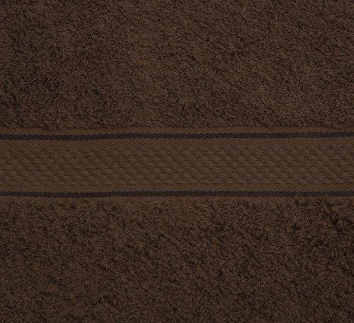 Pinzon Egyptian Cotton 725-Gram 6-Piece Towel Set, Cocoa