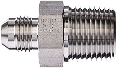Eaton Weatherhead 5217 Stainless Steel SAE 37 Degree (JIC) Flare-Twin Fitting Adapter