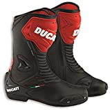 Ducati Sport 2 Road Racing Street Boot by TCX Black Leather Size 46