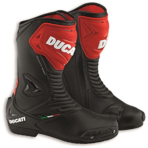 Ducati Sport 2 Road Racing Street Boot by TCX Black Leather Size 46 by Ducati