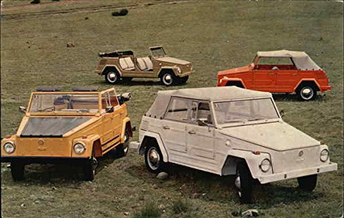 VW Safari Volkswagen Original Vintage Postcard at Amazon's ...