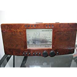 Sharper Image Stereo Sound Soother Clock Stereo Radio SI435