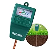 Soil Moisture Meter, Soil Test Kit for Gardens, Soil Moisture Sensor Meter Long Probe, Yard Moisture Meter for Plants/Flowers/Vegetable/Yard/Lawn