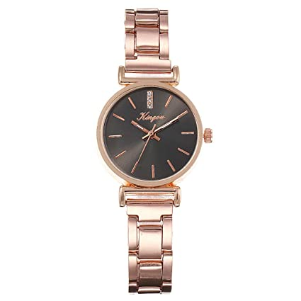 Amazon.com: Watch Bracelet for Womens Young Girls, Women Alloy Steel Belt Casual Watch Geneva Simple Steel Belt Watch (F): Automotive