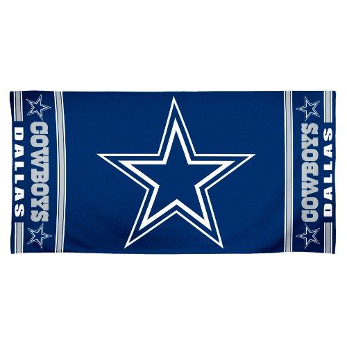 NFL Dallas Cowboys 30 by 60 Fiber Reactive Beach ()