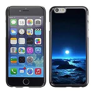 Be Good Phone Accessory // Dura Cáscara cubierta Protectora Caso Carcasa Funda de Protección para Apple Iphone 6 // planet alien winter space universe life