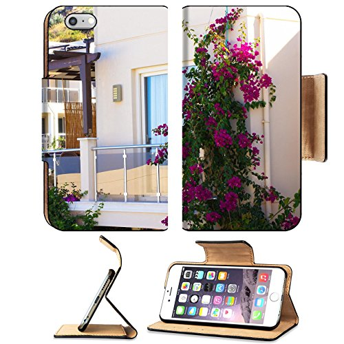 MSD Premium Apple iPhone 6 Plus iPhone 6S Plus Flip Pu Leather Wallet Case Traditional aegean architecture narrow streets of Bodrum Old town Turkey IMAGE 22019739 Aegean Cup