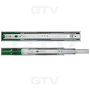 GTV par de cierre suave extensión completa guías para ...