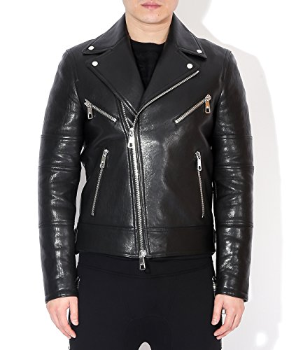 wiberlux-neil-barrett-mens-star-patch-detail-leather-biker-jacket-l-black
