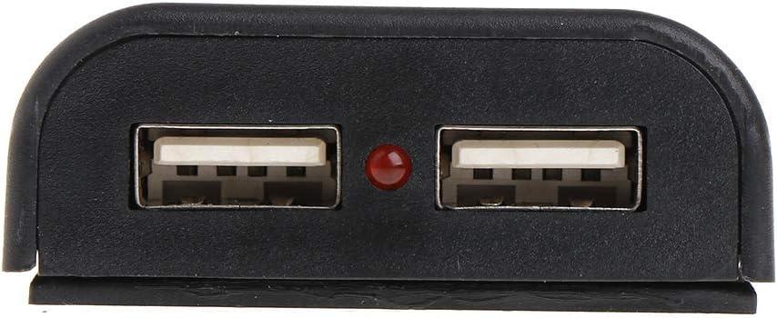 9V DC Panneau Solaire Banque dalimentation USB r/égulateur de Tension de Charge r/égulateur R/égulateur Prise de Connexion USB sp/éciale smallJUN 5V 2A
