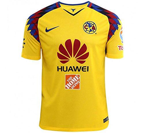 NIKE Club America 2018 Stadium Third Jersey- Yellow L