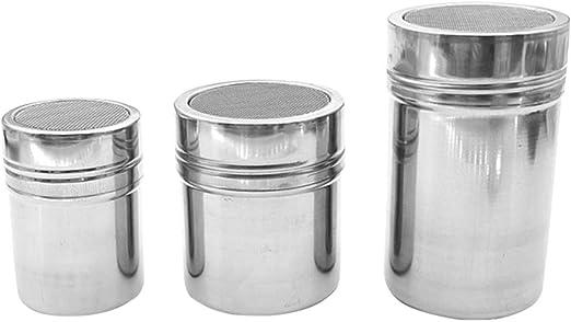 salero Shaker botellas para especias salero y pimentero con Tapa cada uno 2 Tarros de vidrio 100 ml