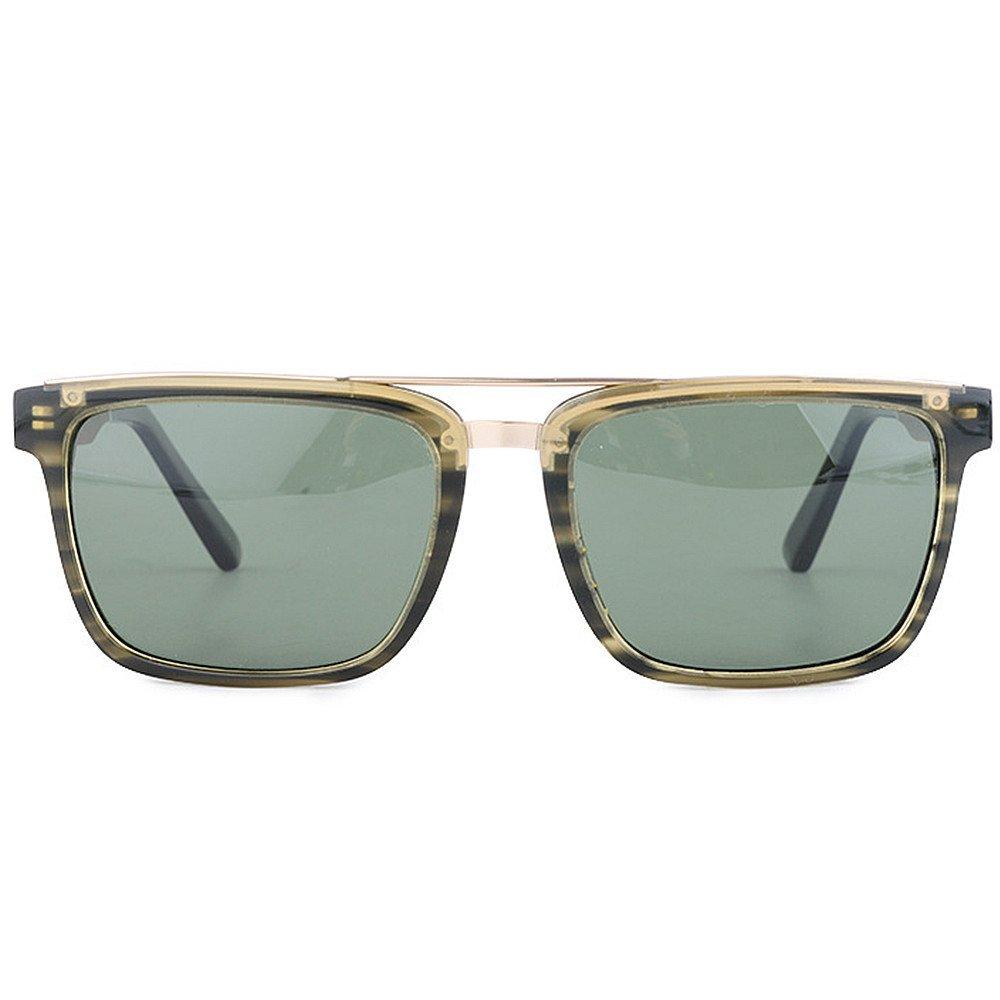 09e60d8202 Tiras de personalidad Marco de color Hombres de Gafas Pesca Lente de sol  polarizadas Fibra de acetato y Marco de madera Lente TAC Protección UV  Conducción ...