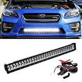 Subaru sti light bar test top bestseller comparison ijdmtoy wrc rally style 30 180w high power double row led light bar with aloadofball Images