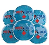 Ice Packs For Injuries Reusable Gel Hot Cold Flexible Compress Ideal For Breast Feeding ,...
