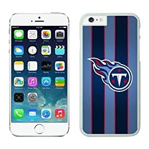 NFL Case Cover For Apple Iphone 6 4.7 Inch Tennessee Titans White Case Cover For Apple Iphone 6 4.7 Inch Cell Phone Case ONXTWKHC4438