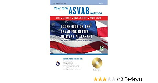 ASVAB w/CD-ROM 7th Ed : Your Total Solution (Military (ASVAB