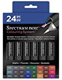 Spectrum - Caja de 24 bolígrafos negros