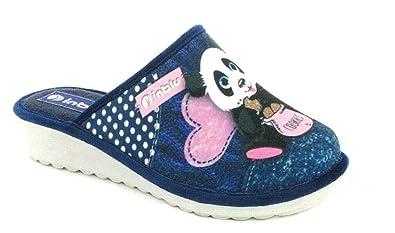 Blu Art Donna Pantofole CI Invernali 78 da EU 39 Ciabatte INBLU PX81q8