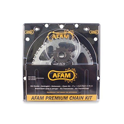 Afam 01470205 Motorcycle chain kit set (steel) for SUZUKI GSX 600 F 1998-2006 Afam Front Steel Sprocket