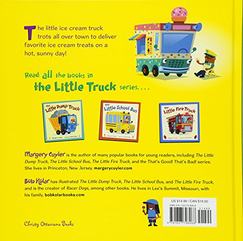 The Little Ice Cream Truck (Little Vehicles) by Henry Holt and Co. (BYR) (Image #1)
