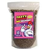 Tasty Worms 1/2 Lb (8 Oz) Freeze Dried Mealworms Approx. 8,000ct