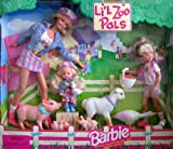 Barbie Li'l Zoo Pals Gift Set w Barbie, Kelly & Stacie Dolls (1998)