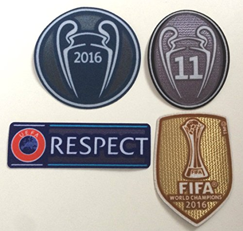 real madrid patch champions - 9