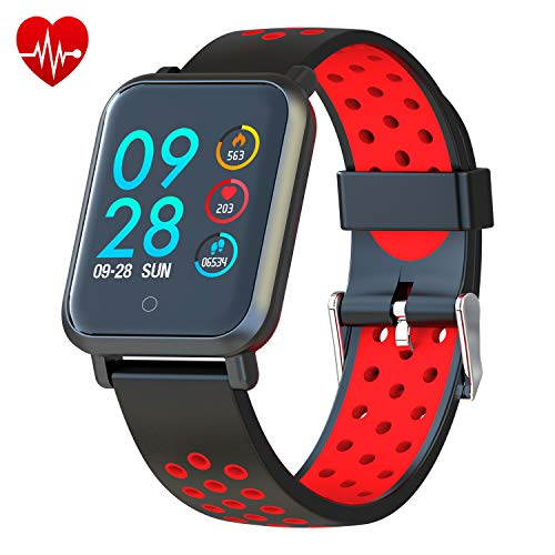 COLMI Smart Watch, Bluetooth Fitness Activity Tracker with Heart Rate Monitor, Wearable Blood Pressure Smartwatch for Women Men Kids, Waterproof Pedometer Compatible Andriod iOS