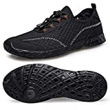 Alibress Men's Water Shoes Lightweight Quick Dry Aqua Beach Shoes