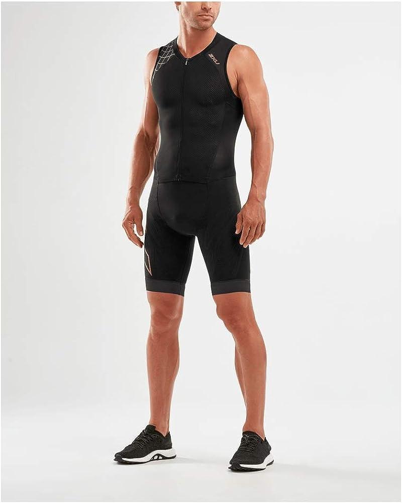 2XU Mens Compression Trisuit Full Zip