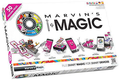 Marvin' s Magic – 430254 – Gioco da tavolo – Cofanetto Speciale di magia in realtà aumentata – 50 giri MARVIN'S MAGIC