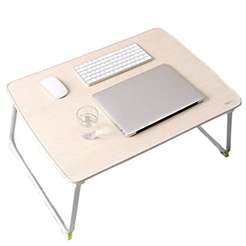 ACZZ Mesa plegable para computadora portátil Cama Escritorio para ...
