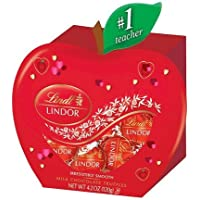 Lindt Valentine's Day Teacher Box Milk Chocolate Truffles 4.2oz