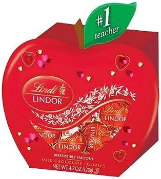 Lindt Valentine's Day Teacher Box Milk Chocolate Truffles 4.2oz
