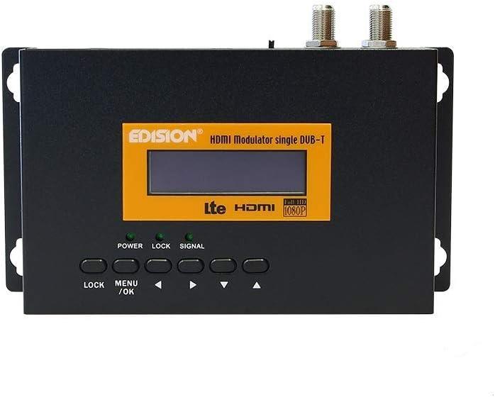 Edision, Distribuidor Full HD modulador HDMI sobre Red coaxial ...
