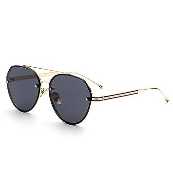 WKAIJC Retro Männer Und Frauen Bunt Sonnenbrille Persönlichkeit Kreativität Piloten Mode Jurte Sonnenbrillen,B