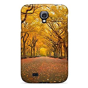 New Style Cases Covers Tgm10150VTzL Yellow Trees Compatible With Galaxy S4 Protection Cases