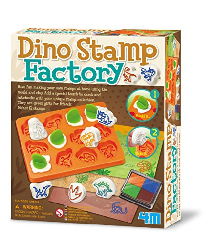 4M Dino Stamp Factory Science