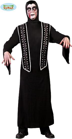 Disfraz de sacerdote asesino (Talla 48-52): Amazon.es: Juguetes y ...