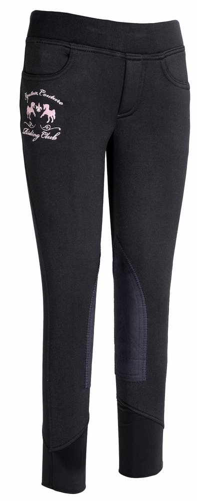 Black 16 Black 16 Equine Couture Girl's Riding Club Pull-On Breech