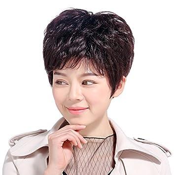 Amazon Com Peng Short Curly Hair Wig Women Girls Female Short Hair